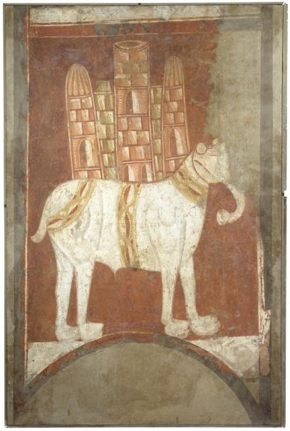 Elefante. Ermita de San Baudelio. Casillas de Berlanga (Soria)