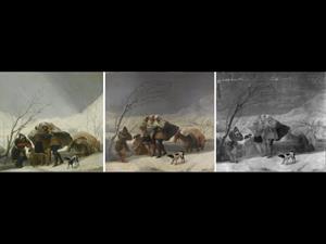 Estudio técnico: La Nevada o el Invierno, de Francisco de Goya (1786)