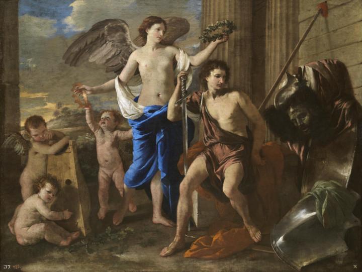 El Prado habla. El triunfo de David, de Nicolás Poussin