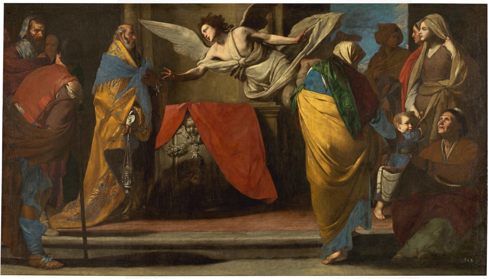 El nacimiento del Bautista anunciado a Zacarías - Colección - Museo ...