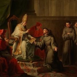 Approval of the Rule of Saint Francis by Pope Innocence III