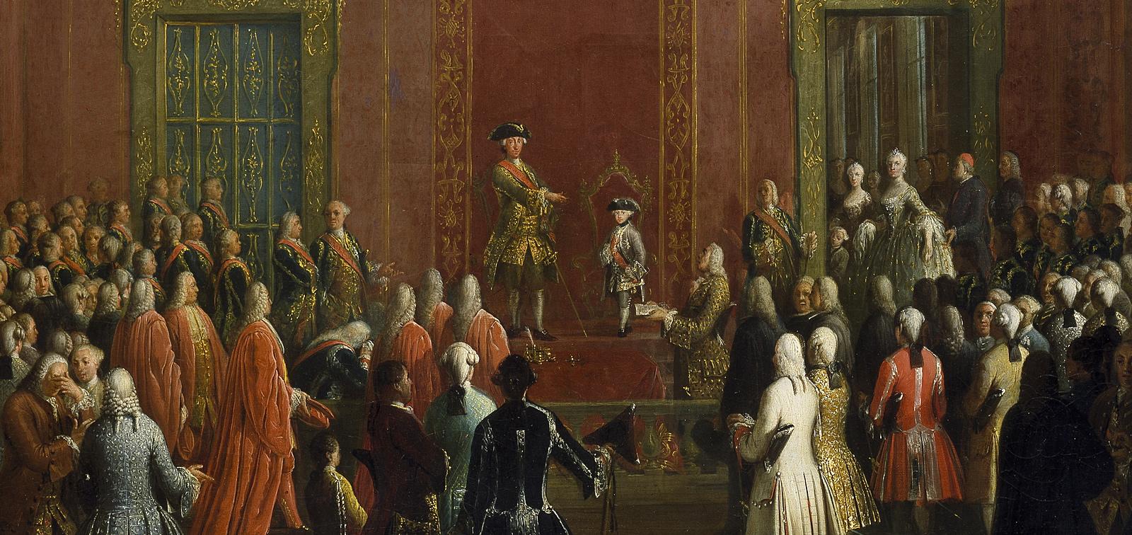 Instalación temporal: Carlos de Borbón, un monarca entre Nápoles y España