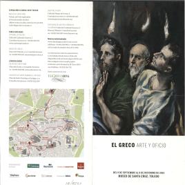 El Greco : arte y oficio / Museo de Santa Cruz, Toledo.