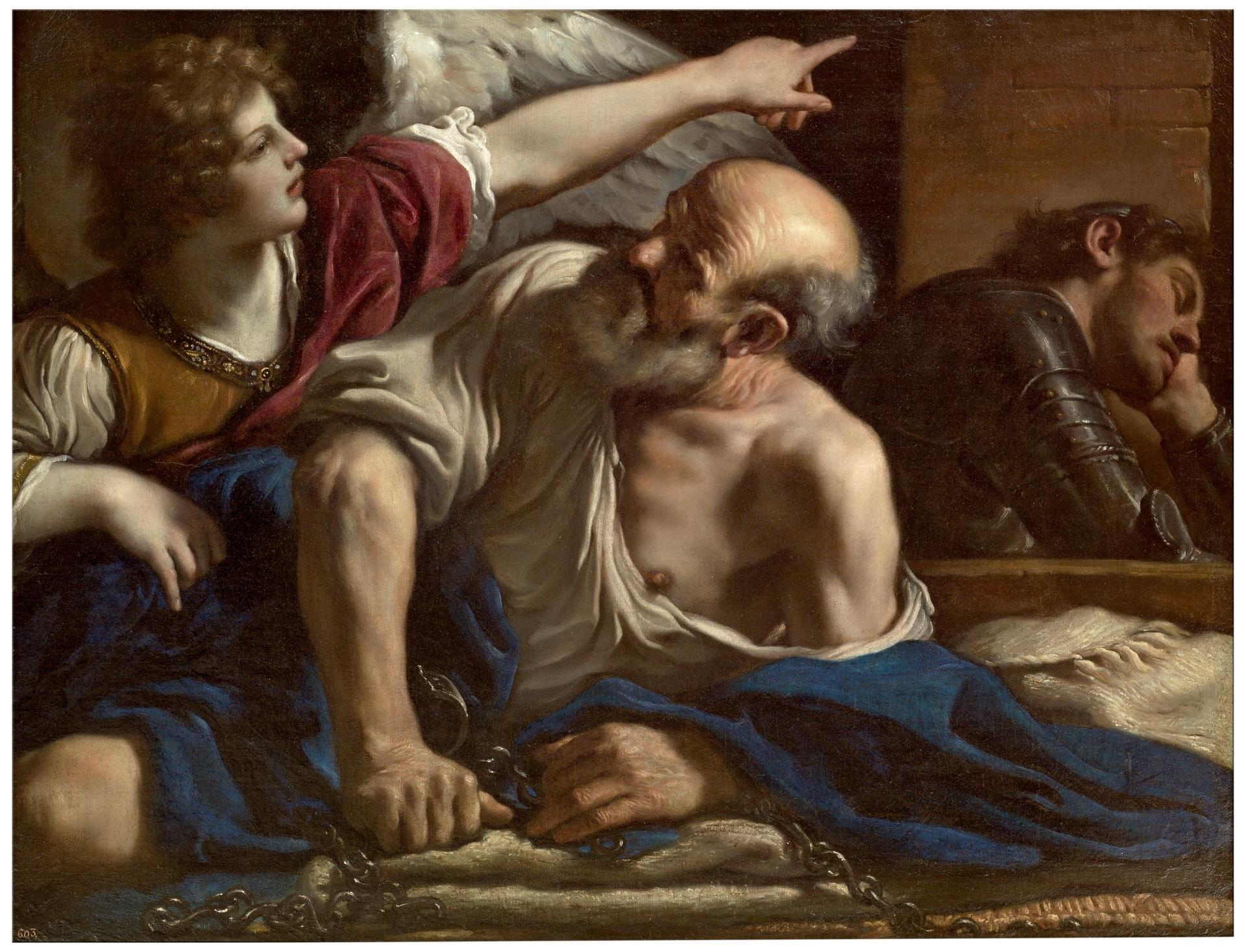 99ebe072e9 San Pedro liberado por un ángel - Colección - Museo Nacional del Prado