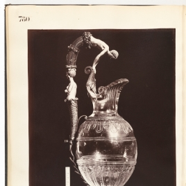 Rock crystal ewer with Narcissus and Echo