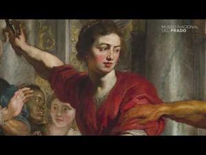 Aquiles descubierto por Ulises y Diómedes, de Rubens, con comentarios en latín