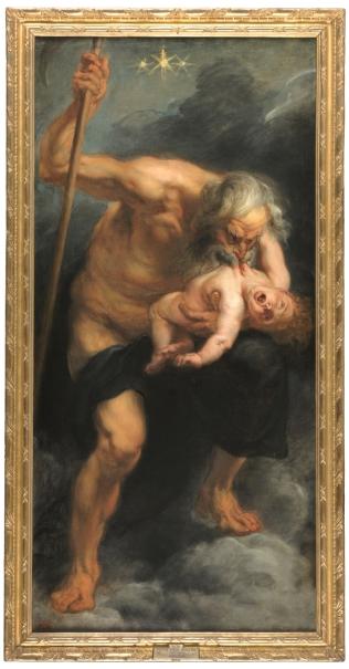 Saturno Devorando A Un Hijo Colección Museo Nacional Del Prado