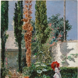 The Garden of the Fortuny Residence