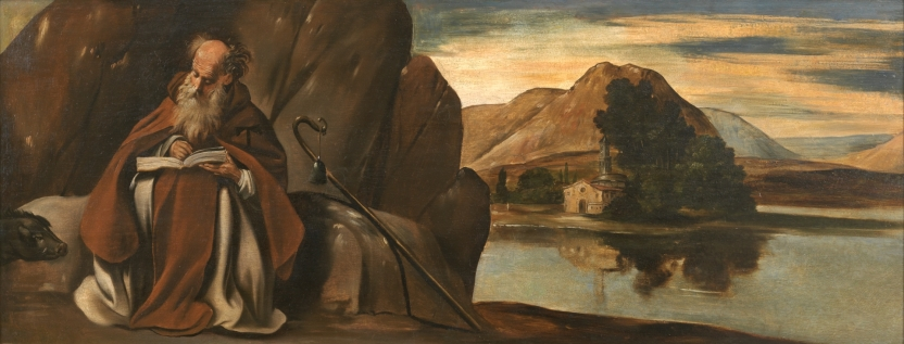 Saint Anthony Abbot in a Landscape