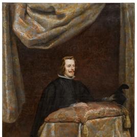 Felipe IV, orante