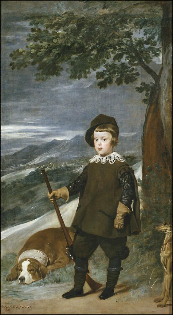 Príncipe Baltasar Carlos, cazador, El [Velázquez]