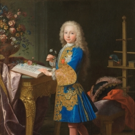 Charles III as a Boy in his Study
