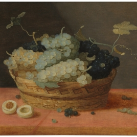 Cesta de uvas