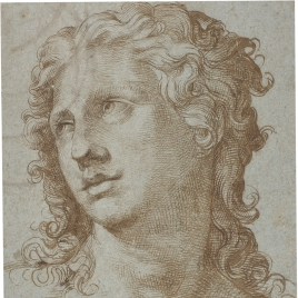 Head of a figure