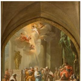 Santa Leocadia ante el pretor