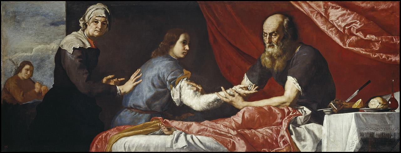 Isaac y Jacob [Ribera]