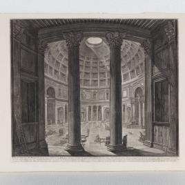 Vista interior del Panteón