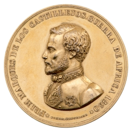 Al general Prim, marqués de Castillejos. Guerra de África