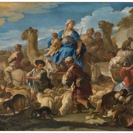 Viaje de Jacob a Canaán o Viaje de Rebeca a Canaán