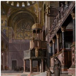 En la basílica de San Marcos (Venecia)