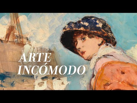"Arte incómodo: ""The Carlist Painter and his Family"" by Domínguez Bécquer and ""Woman Painting by the Sea"" by Palmaroli 