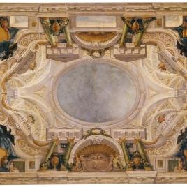 Boceto para un techo del Buen Retiro