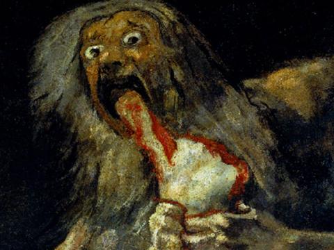 <em>Saturno</em>, Francisco de Goya y Lucientes, comentada por Juan Rof Carballo