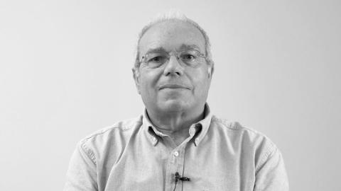 José María Luzón y la sala de esculturas
