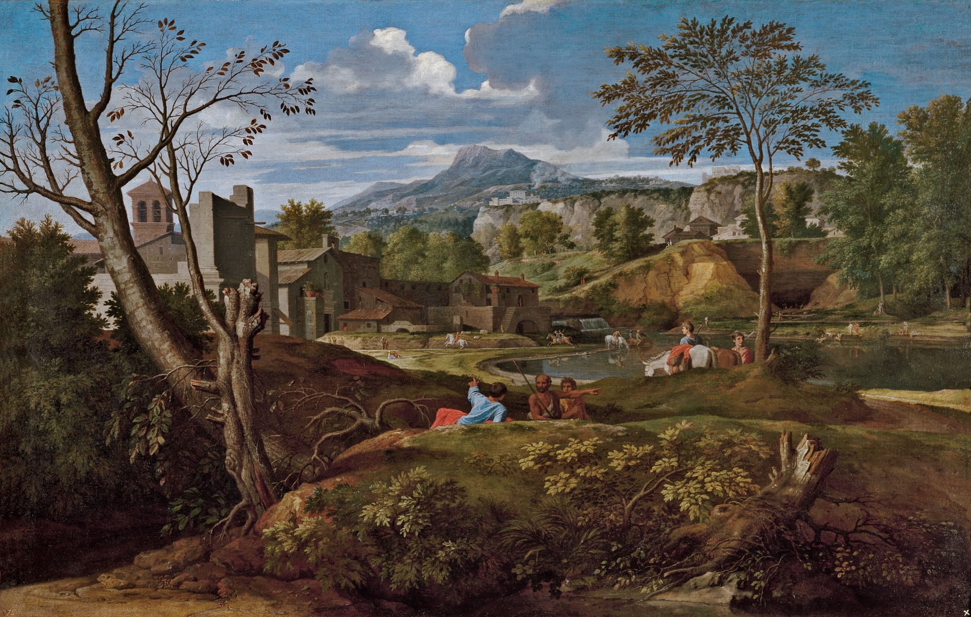 Landscape with Buildings The Collection Museo Nacional del Prado