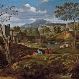 Landscape with Buildings