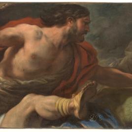 Sansón destruyendo a los filisteos