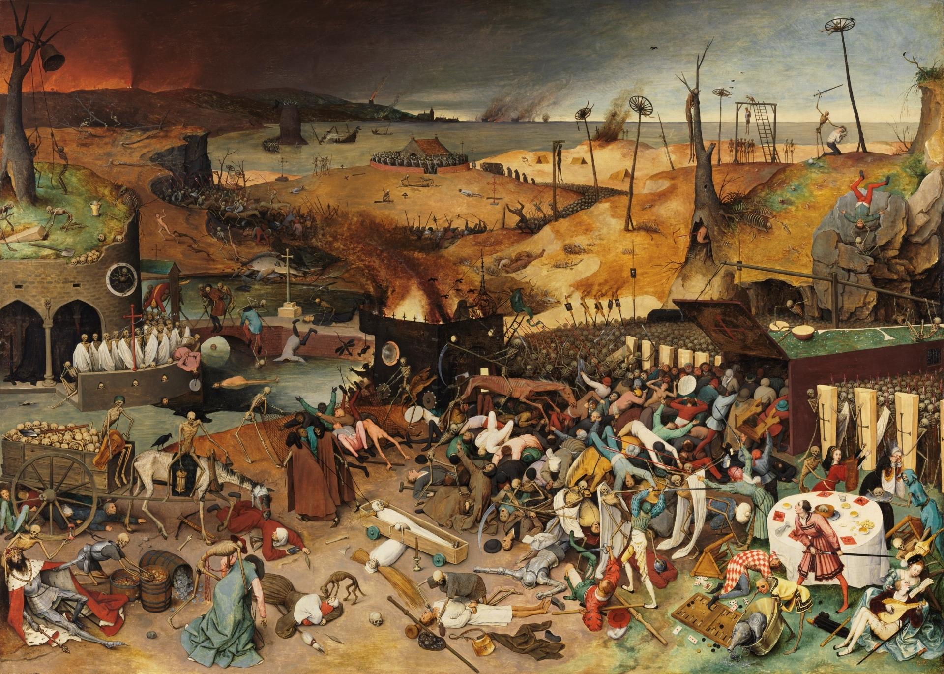 El triunfo de la Muerte - Colección - Museo Nacional del Prado