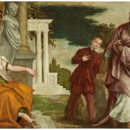El joven entre la Virtud y el Vicio
