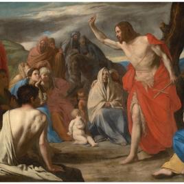 Predicación del Bautista en el desierto