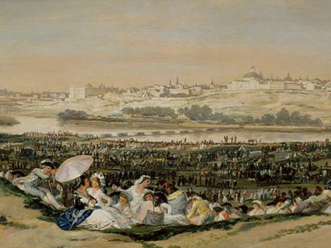 <em>La pradera de San Isidro</em>, Francisco de Goya y Lucientes, comentada por Manuel Mampaso