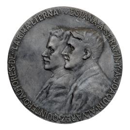 A los hermanos Serafín y Joaquín Álvarez Quintero