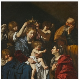 Sagrada Familia con Santa Catalina