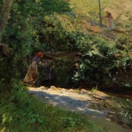 Una fuente en Galicia
