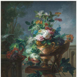Flower Vase on a Chair