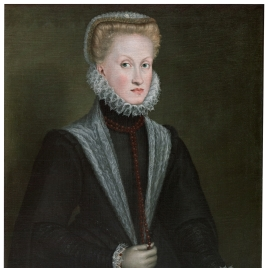 Portrait of Queen Anne of Austria