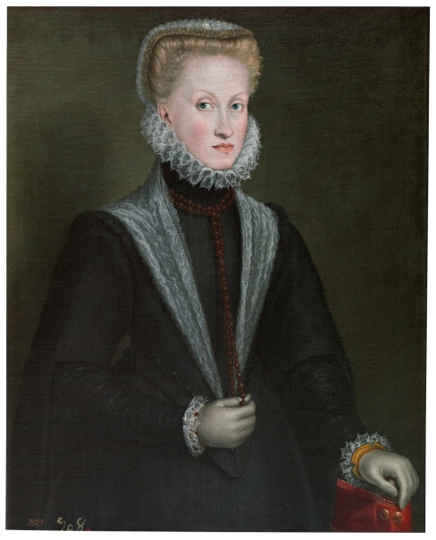 Portrait of Queen Anna of Austria