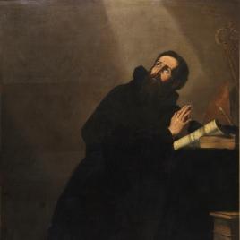San Agustín en oración