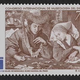 Serie de sellos Congreso Internacional de la Museología del Dinero