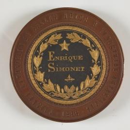 III Exposición de Bellas Artes e Industrias Artísticas, Barcelona. Medalla de primera clase 1896