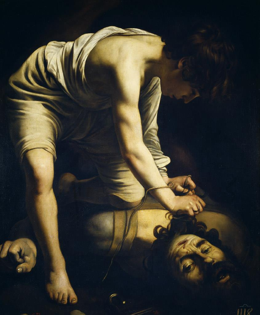 David vencedor de Goliat [Caravaggio]