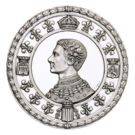 Recibimiento de don Alfonso XII en Barcelona