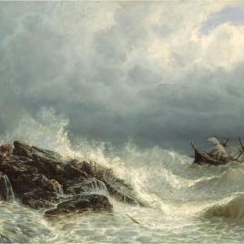 Un naufragio en las costas de Asturias