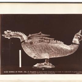 """Gran vaso en forma de dragón o """"caquesseitão"""""""