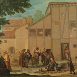 Reunión de mendigos