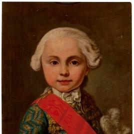 Retrato de Fernando de Borbón Parma